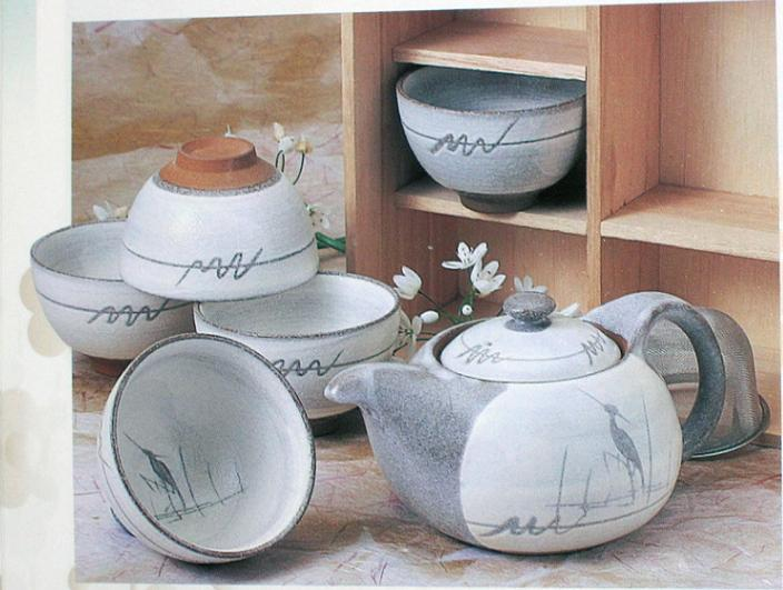 teaset, ensemble de theiere